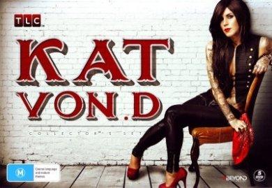 Kat Von D Collection - 5-DVD Box Set ( Miami Ink / LA Ink ) [ Australische Import ]