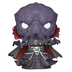 From Dungeons and Dragons, mind flayer, as a stylized POP vinyl from Funk! Stylized collectable stands 3 ¾ inches tall, perfect for any Dungeons and Dragons fan! Collect and display all Dungeons and Dragons pop! Vinyl's! Package Dimensions: 9.398 L x...