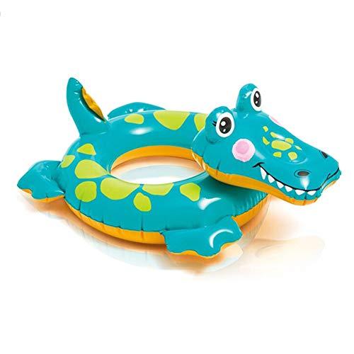 Nesloonp Anello Nuoto Bambino, Piscina Baby Salvagente Bambini Float, Baby Galleggiante Gonfiabile Nuoto - Aiuta Il Bambino a Imparare a Calciare e Nuotare