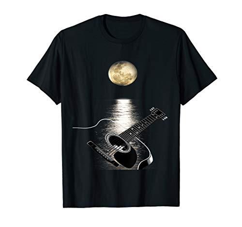 Akustik Gitarre T-Shirt Romantik