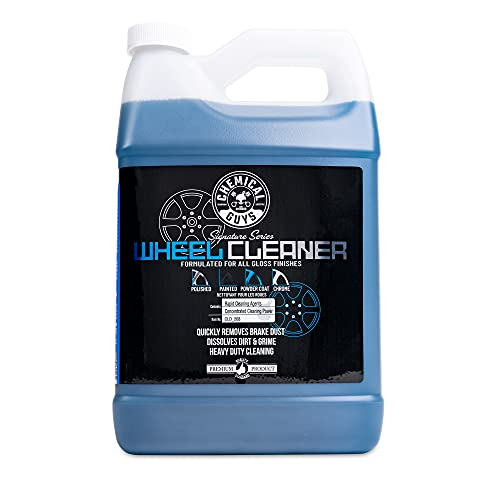 Chemical Guys CLD_203 Signature Series Wheel Cleaner, 1 Gal, Blue