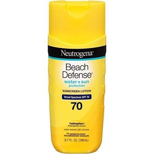 Neutrogena Beach Defense Sunscreen Lotion Broad Spectrum SPF 70, 6.7 Oz