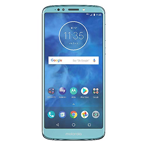 E5 Moto Plus Azul (XT1924) 32GB,12MP + 8MP, 6″ HD, Huella, Android 8,