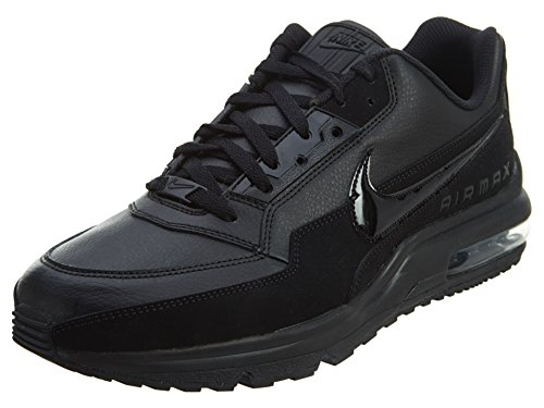 Nike Mens Air Max LTD 3 Sneaker, Black/Black-Black, 46 EU