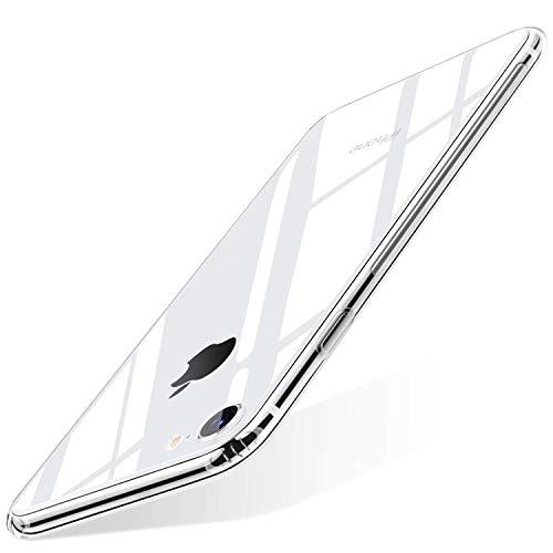 wsky Handyhülle Kompatibel mit iPhone 7 Hülle iPhone 8 Hülle Transparent, Ultra Dünn Silikon iPhone 7/8 Handyhülle, Stoßdämpfend Anti-Gelb Durchsichtige Cover Hülle Schutzhülle (iPhone 7/iPhone 8)