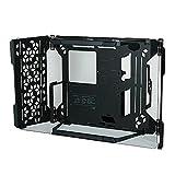 Cooler Master MasterFrame 700 Caja de PC Diseño Abierto con Modo Test Bench, Bisagras de Fricción Variable, Compatibilidad Máxima de Hardware, Cristal Templado Panorámico y Montaje VESA Integrado