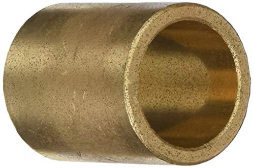 "Oilite AAM2532-40 25 x 32 x 40 M-Series Sintered Metric Sleeve, 1.57"" Height, 1.26"" Width, 1.26"" Length, 25"" x 3"" ID, Bronze"