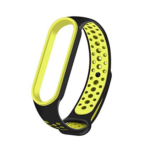 Ersatzbänder für Xiaomi MI, Band 5 Verstellbare Smartwatch Armband Xiaomi MI Armband für Männer & Frauen