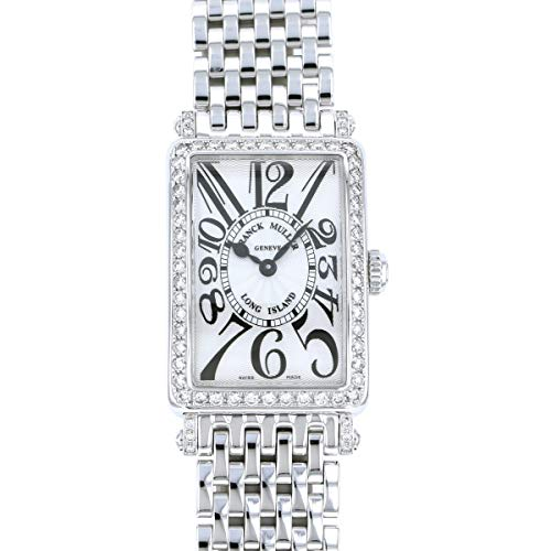 フランク・ミュラー FRANCK MULLER ロングアイランド 902QZ D 1R シルバー文字盤 新品 腕時計 レディース (W184224) [並行輸入品]