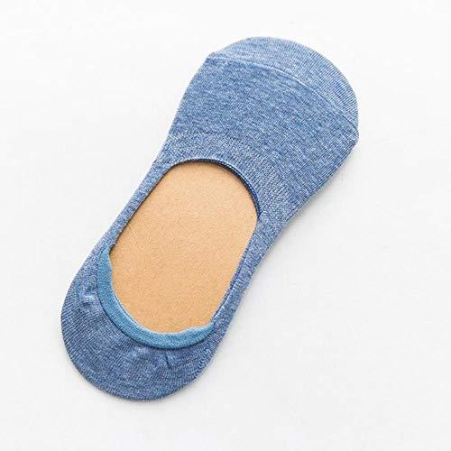 Zent Frühling Sommer Frauen Socken Einfarbige Mode Wilde Flache Mund unsichtbare Pantoffel weibliche Socken, wie Bild