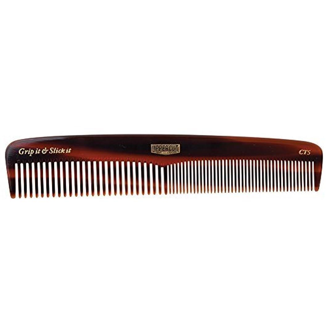 印象的な呪われたクライアントUppercut Deluxe CT5 Tortoise Shell Comb - Easy to Use, Pocket Sized - Grip It & Slick It [並行輸入品]