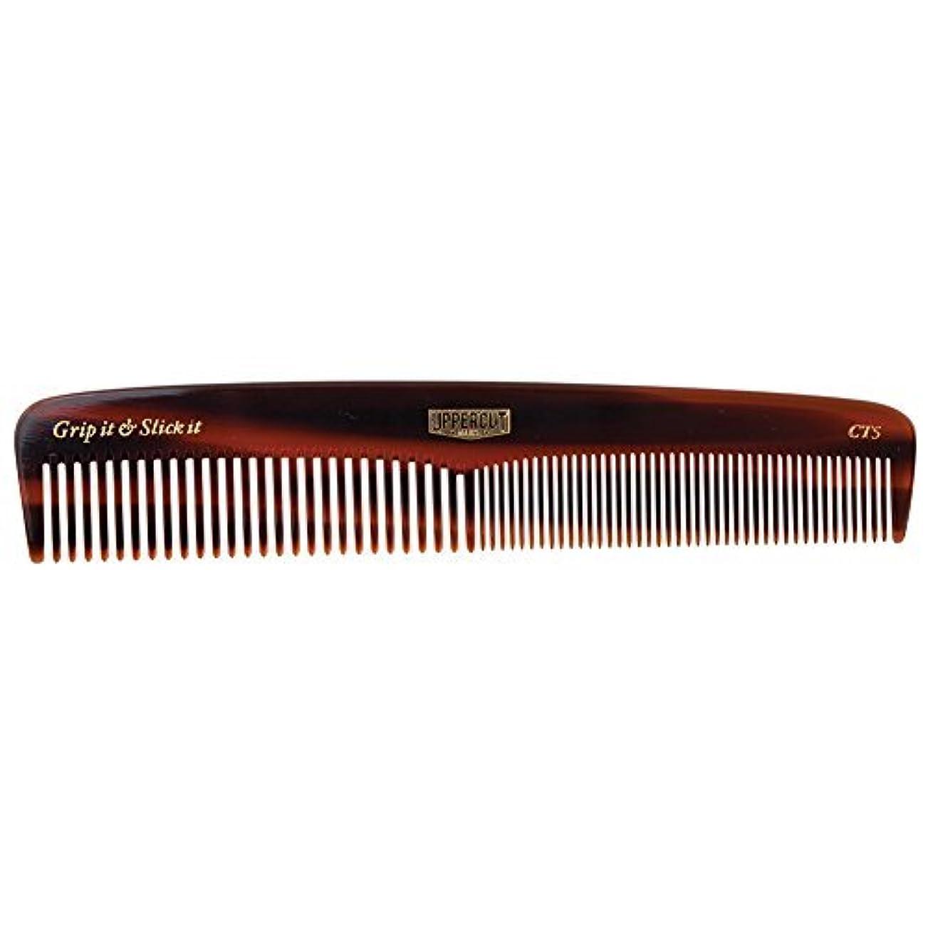 現像甥共役Uppercut Deluxe CT5 Tortoise Shell Comb - Easy to Use, Pocket Sized - Grip It & Slick It [並行輸入品]
