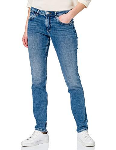 edc by ESPRIT Damen 991CC1B314 Jeans, 902/BLUE MEDIUM WASH, 30/32