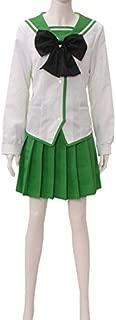 Anime Rei Miyamoto Cosplay Costume Women School Uniform Dress