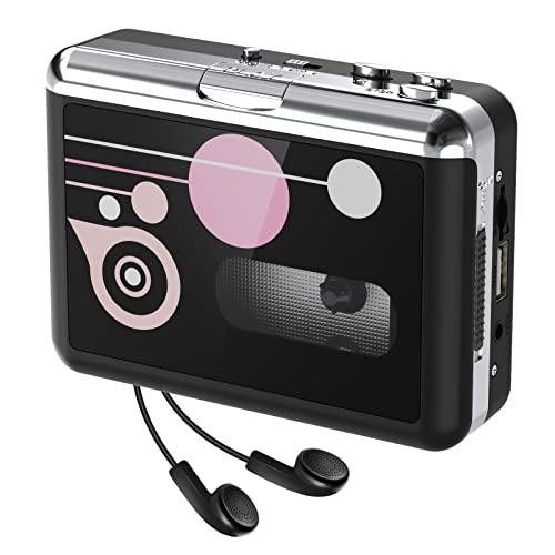 Rybozen Cassette Player Standalone Portable Digital USB Audio Music/Cassette per MP3 Converter con OTG Salva su USB Flash Drive/Nessun PC richiesto