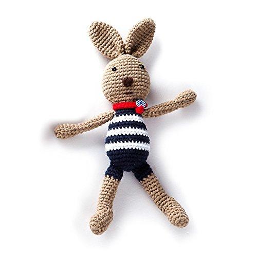 iHanco My Dear Friend Bunny Knitting DIY Kit Brown