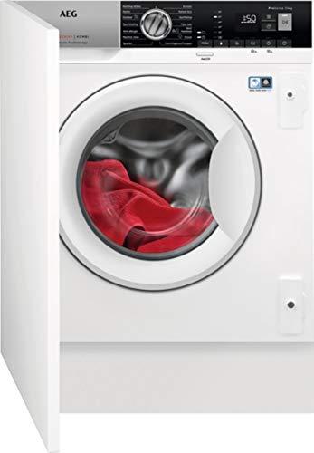 AEG L7WE76EBI lavadora Carga frontal Integrado Blanco A - Lavadora-secadora (Carga frontal, Integrado, Blanco, Izquierda, Botones, Giratorio, Frío)