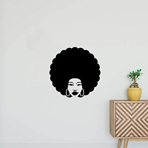 stickers muraux 3d stickers muraux chambre Coiffeur Afro Style Coiffeur