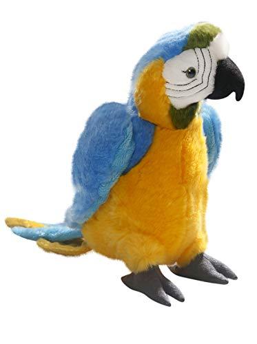 Carl Dick Peluche - Loro Azul Amarillo
