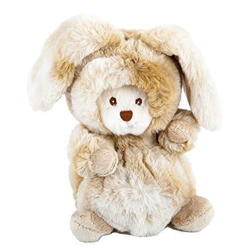 Barbara Bukowski Ziggy Winter Hase beige Verwandlungsbär Teddy 15 cm