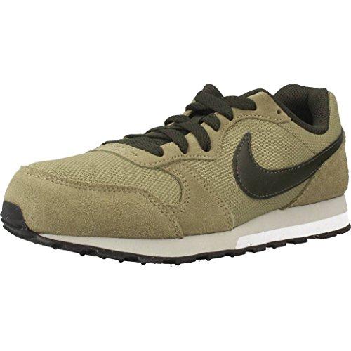 Nike MD Runner 2 (GS), Zapatillas de Running Niños, Verde (Neutral Olive 200), 35.5 EU