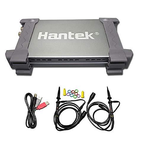 HELEISH Hantek 6022BE Osciloscopio digital USB for PC basado en PC 2 canales 20MHz 48MSa / s con caja original Herramientas de accesorios