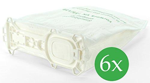 6 Vlies Staubsaugerbeutel Premium geeignet für Vorwerk Kobold 135 und 136
