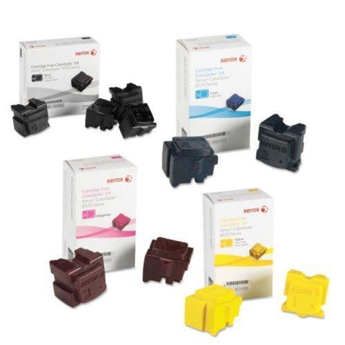 Xerox 108R00926 Ink Cartridge (Black,Cyan,Magenta,Yellow,10-Pack) in Retail Packaging