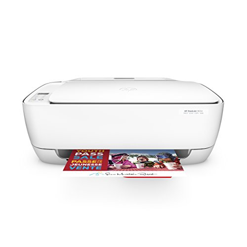 HP DeskJet 3634 Compact All-in-One Wireless Printer with Mobile Printing, HP...