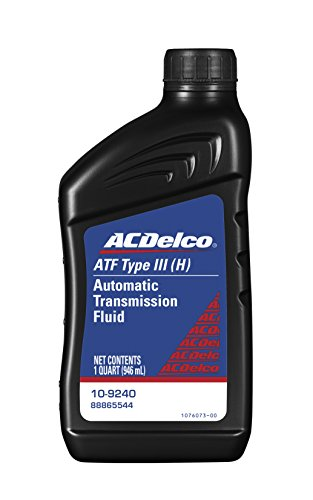 ACDelco 10-9240 Type III (H) Automatic Transmission Fluid - 1 qt