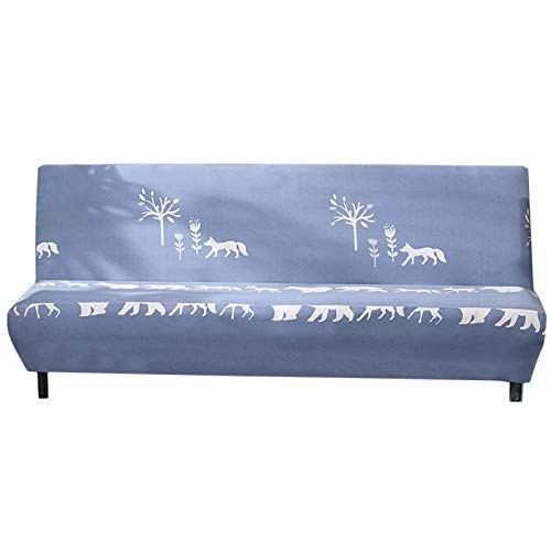 PW TOOLS Universal Full Cover Sofa Towel No Armrest Stretch Sofa Cover All-Inclusive Folding Sofa Bed Cover Cover Bed Type
