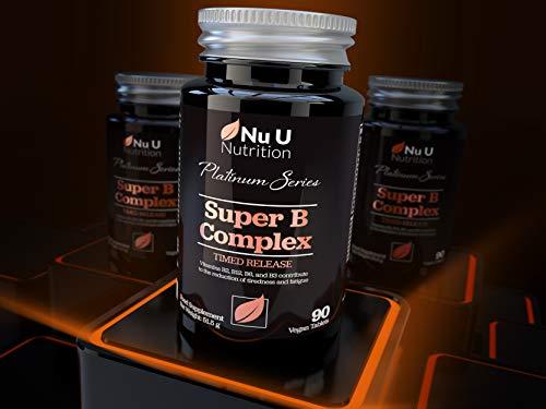 Vitamin-B-Complex-8-High-Strength-B-Vitamins-Vitamin-C-Vitamins-B1-B2-B3-B5-B6-B8-B9-B12-90-Timed-Release-Tablets-3-Month-Supply-Vegan-Vegetarian-VIT-B-Complex