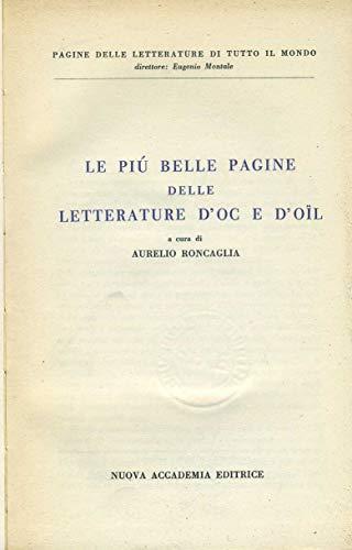 Le più belle pagine delle letterature d'oc e d'oil