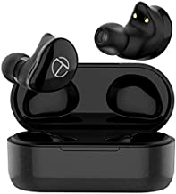 Wireless Earbuds,OKCSC T200 Bluetooth 5.0 Earphone Supports APTX AAC Built-in Mic HiFi Sound Headset with Charging Case 7 Hours Playback for iPhone Android