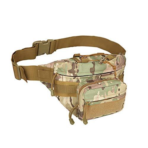 YSNBB schoudertas omtoverbaar in rugzak voor het opbergen van laptops, aktetas, fietstas, om buiten te lopen (17 x 15 x 19 cm) Patroon groen