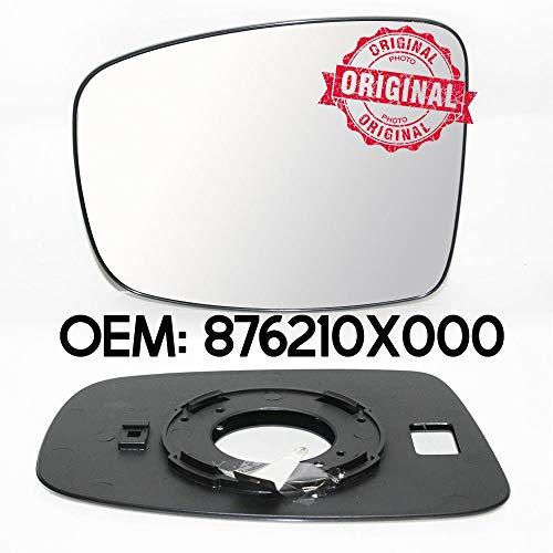 Außenspiegel, nicht beheizt, links, links, mit LHS Sockel, für i10 ab 2008, OEM 876210X000
