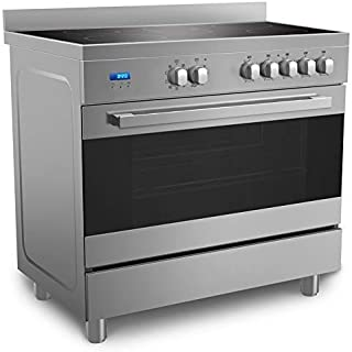 Midea Ceramic Cooker 90 X 60 cm with Schott Glass and Full Safety VSVC96048