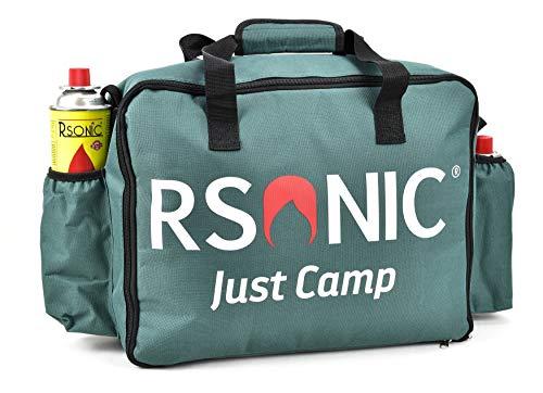 RSonic - TruWare Gaskochertasche Campingtasche Aufbewahrungstasche Outdoortasche Tragetasche Picknicktasche 40x32x16