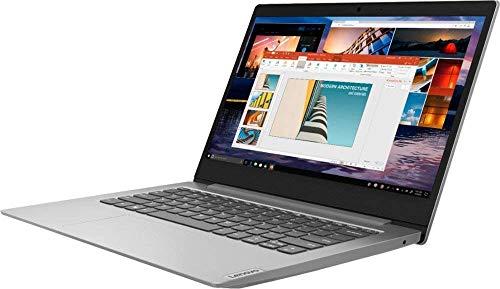 "Lenovo IdeaPad 1 14"" Laptop Computer for Business Student, AMD A6-9220e up to 2.4GHz, 4GB DDR4 RAM, 64GB eMMC, 802.11AC WiFi, Bluetooth 4.2, Webcam, Grey, Windows 10 S Mode, BROAGE 8GB Flash Drive"