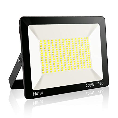 Natur 20000 Lúmenes Focos LED 200W Exterior con LED Foco Proyector IP65...