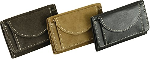 Fuente Leather Wears WLT008-010RN - Cartera para hombre Hombre, marrón (marrón) - PCHBD