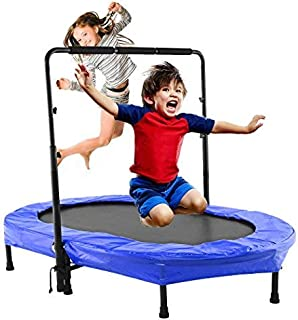 Binxin Mini Rebounder Trampoline Indoor/Outdoor with Handle for Kids (US Stock)
