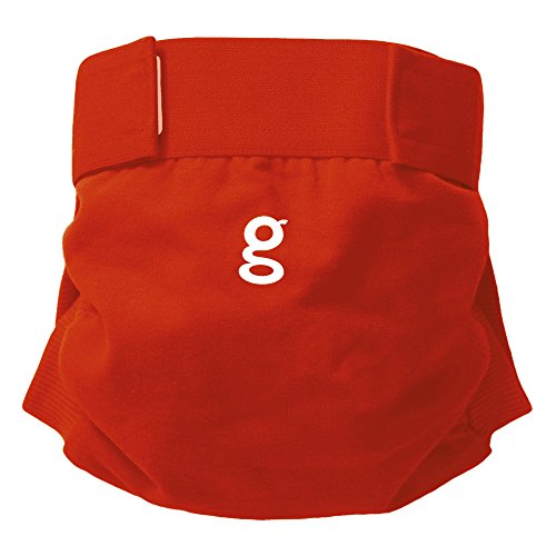 gNappies - Good Fortune Red gPants, Rot, Größe XL (11-16kg)