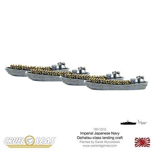 Cruel Seas Warlord Games, Imperial Japanese Navy Daihatsu-Class Landing Craft
