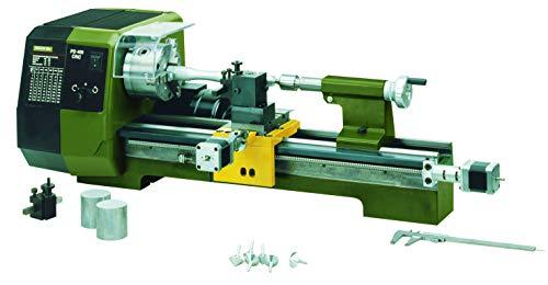 Proxxon Präzisionsdrehmaschine PD 400/CNC (mit Steuerung, 870 W, Motordrehzahl 1400/2800 /min, für Links-+ Rechtsgewinde, Drehmaschine mit Wechselräder) 24500