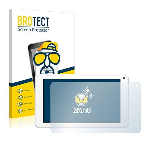 BROTECT 2X Entspiegelungs-Schutzfolie kompatibel mit BigBen Unity Tab 7 Bildschirmschutz-Folie Matt, Anti-Reflex, Anti-Fingerprint