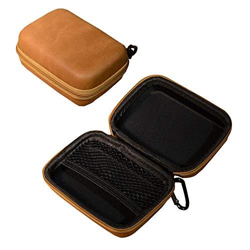 Hosoncovy Funda de piel sintética impermeable para guardar el disco duro, organizador...