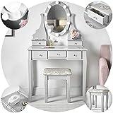 IceCreamLiving Ruby Rozanna Coiffeuse de Luxe Hollywood Avec Lampes à LED Miroir de...