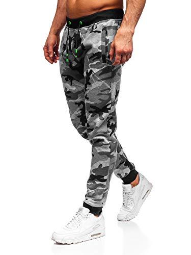 Hombres Pantalones Chandal Jogging Casual Estampado de Camuflaje Pantal/ón Deporte Tallas Grandes Moda Pantalones Running Fitness con Cord/ón y Bolsillos Gusspower