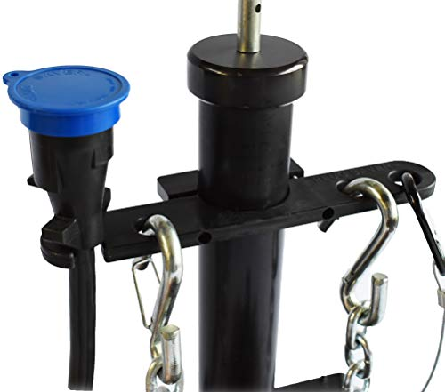 GR innovations llc Tongue Jack Trailer Towing Organizer | Plastic Chain Saver Kit